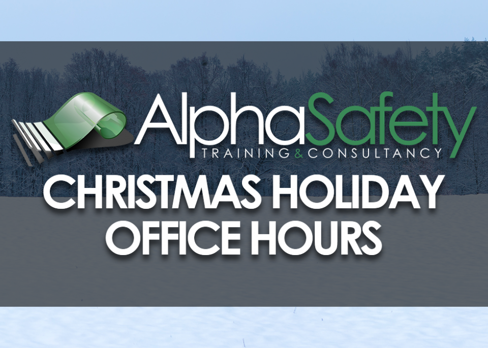 Christmas Holiday Opening Hours