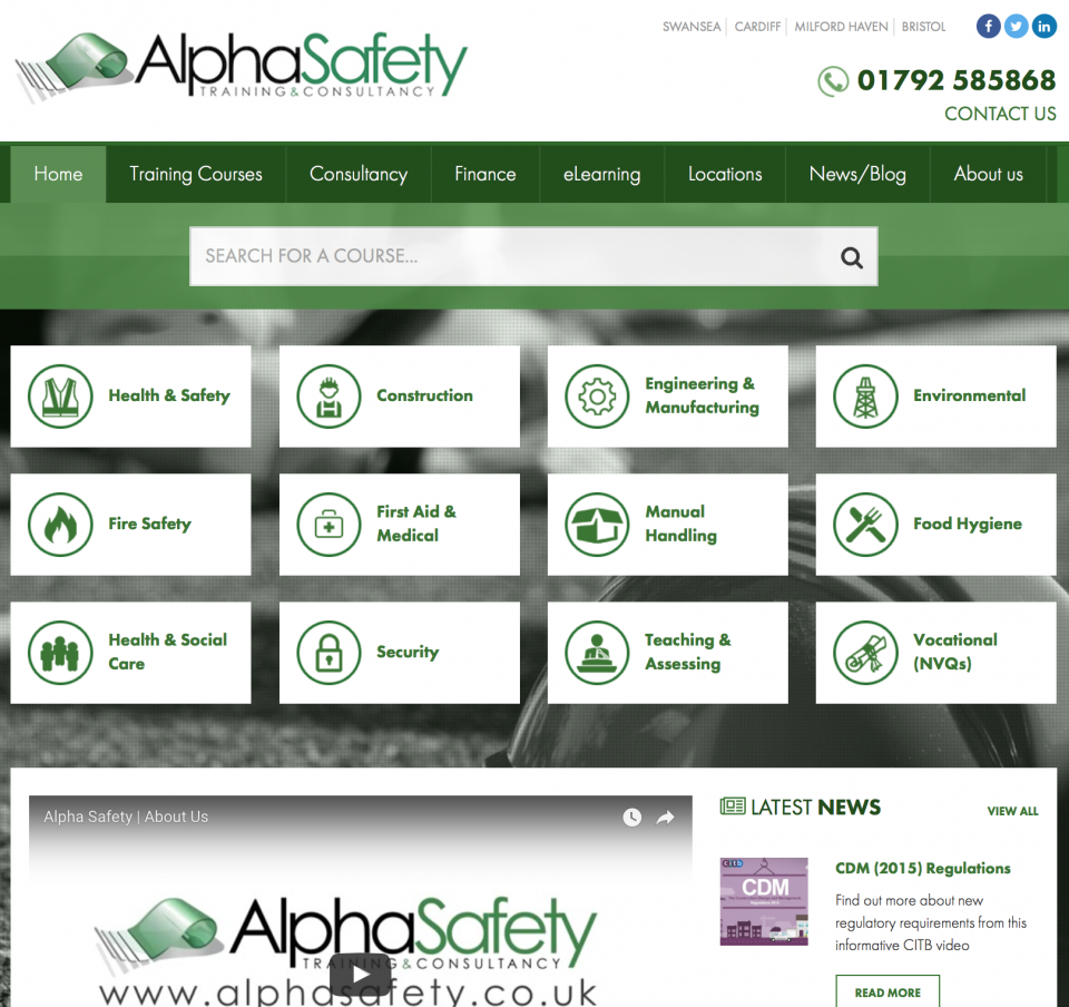 Alpha Safety Launch New Website