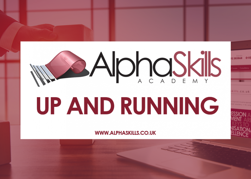 Alpha Skills Now Up and Running!