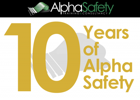 10 Years at Alpha Safety image