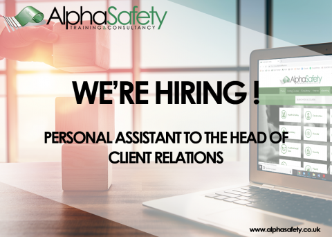 Job Vacancy  -  Personal Assistant to the Head of Client Relations image